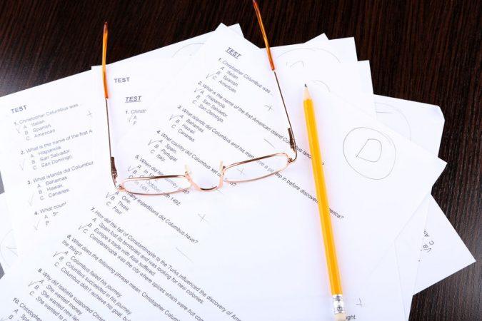 examenes calificados